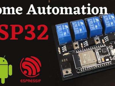 Home Automation – ESP32 + Android App