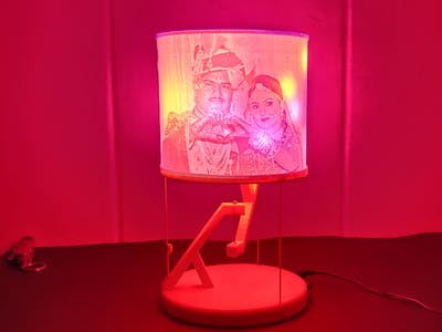 DIY Lithophane Floating Lamp