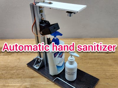 Fighting Corona: Multichoice automatic hand sanitizer