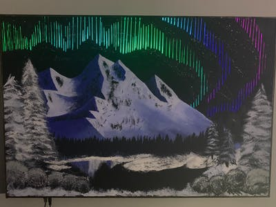 Northern Lights Wall Art