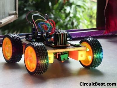 How to Make Bluetooth Controlled car using Arduino UNO R3, H