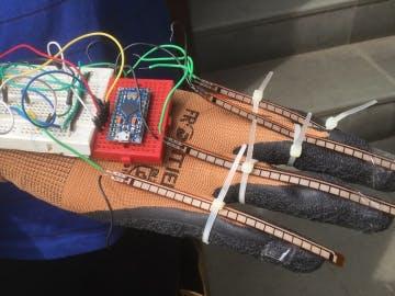Smart Hand Glove