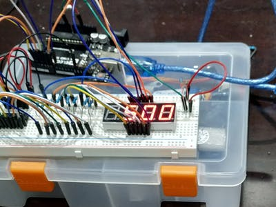 Four Digit Seven Segment Display Tutorial Enhancement