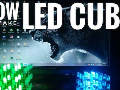 4*4*4 led cube