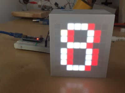 Final Countdown with 8x8 LED Matrix and Arduino Nano