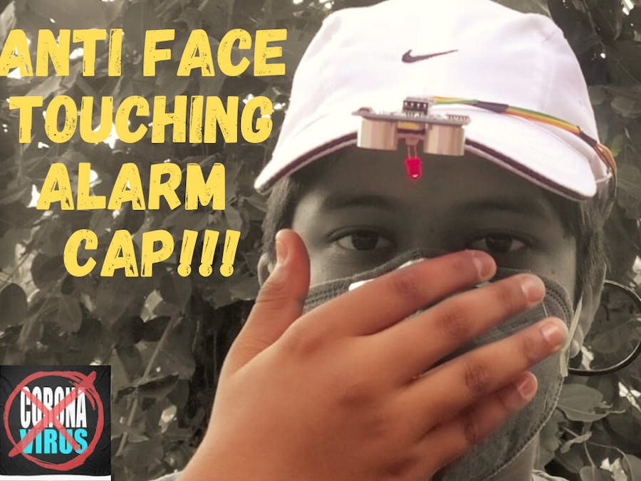 I Made A Cap That Doesn't Allows You To Touch Your Face!!!