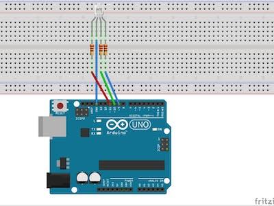 Arduino Workshop-RGB Mood Lamp