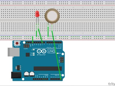 Arduino Workshop-Piezo Knock Sensor