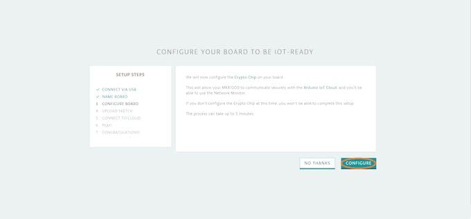 Step 6 - Click Configure
