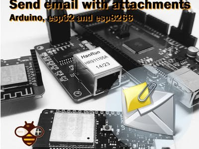 How to Send Emails With Attachments With Arduino, Esp32 a...