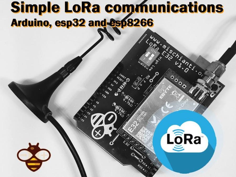 Simple Arduino LoRa Communciation (8km)