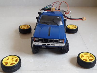 Hack RC Trucks with Arduino and Bluetooth