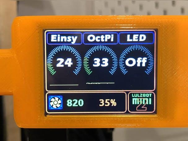 LulzBot Mini 2 – Fan and Lighting Controller