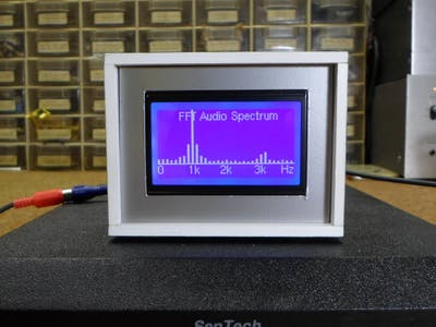 DIY FFT Audio Spectrum Analyzer