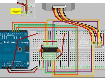Basic Stepper Control – Arduino Workshop