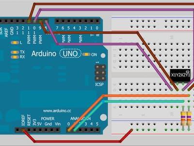 Basic Touch Screen– Arduino Workshop