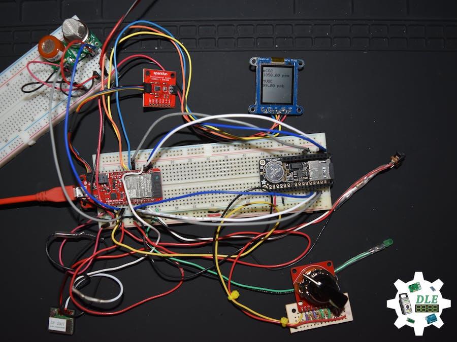 Project #15: Environment - Pololu Carbon Monoxide MQ-9 Mk07