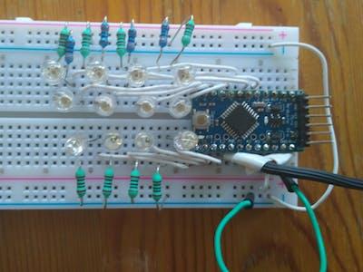 Simple light organ