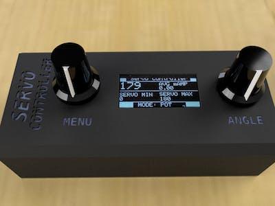 Smart Servo Motor Tester with mAmp meter