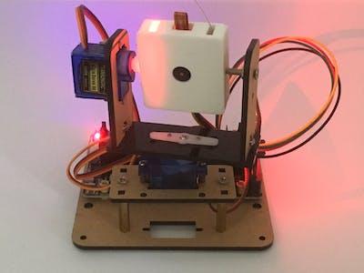 GE Project 012: Microbit Robotic WiFi Camera Control Setup