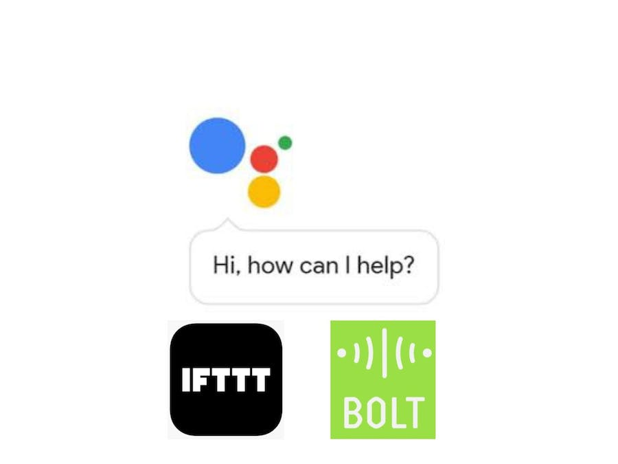 Control your lights using Google Assistant and Bolt