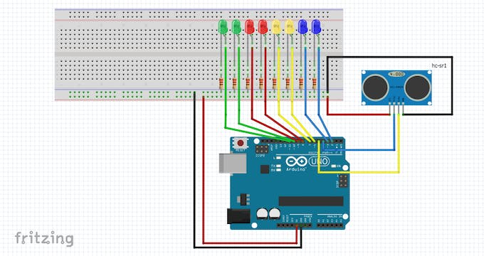 Figure 5 - Wiring diagram for the proposed circuit.