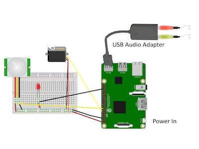 ChatterPi: a Raspberry Pi Audio Servo Controller
