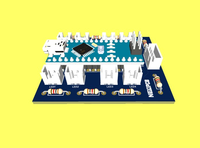 Figure 15 - Funny Robot NEXTPCB Printed Circuit Board.