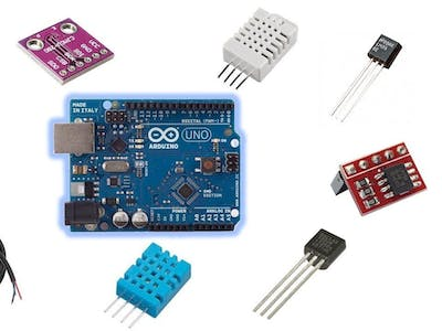 Temperature Sensor With Arduino UNO