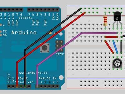 Serial Temperature Sensor– Arduino Workshop