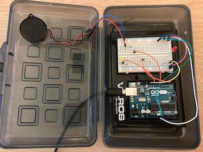Door Alarm Sensor (Wired)