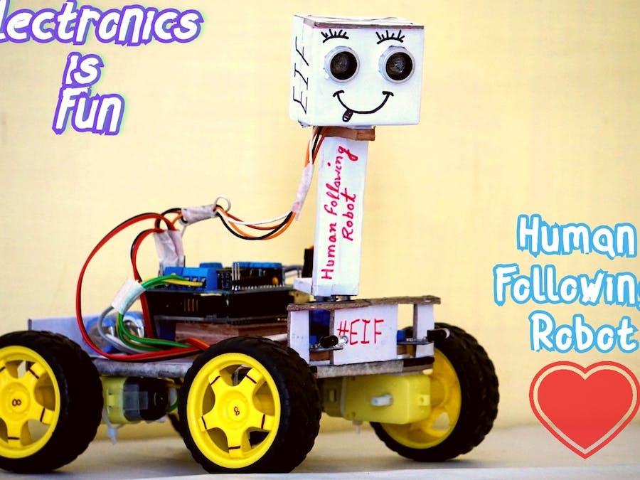 Human Following Bot