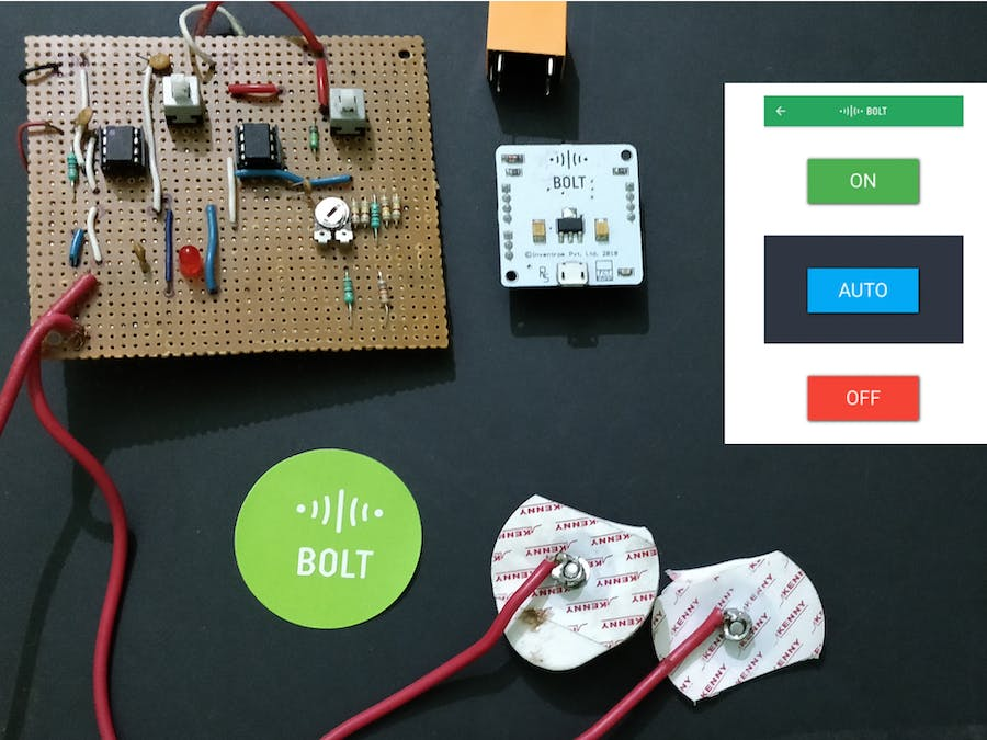 Automated-Electro therepy device via boltiot module