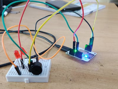 Sound controlled Home automation using bolt IoT