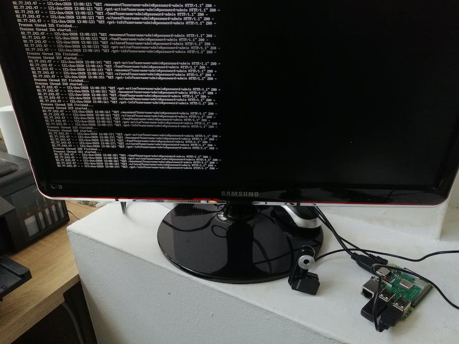 Security System Pi