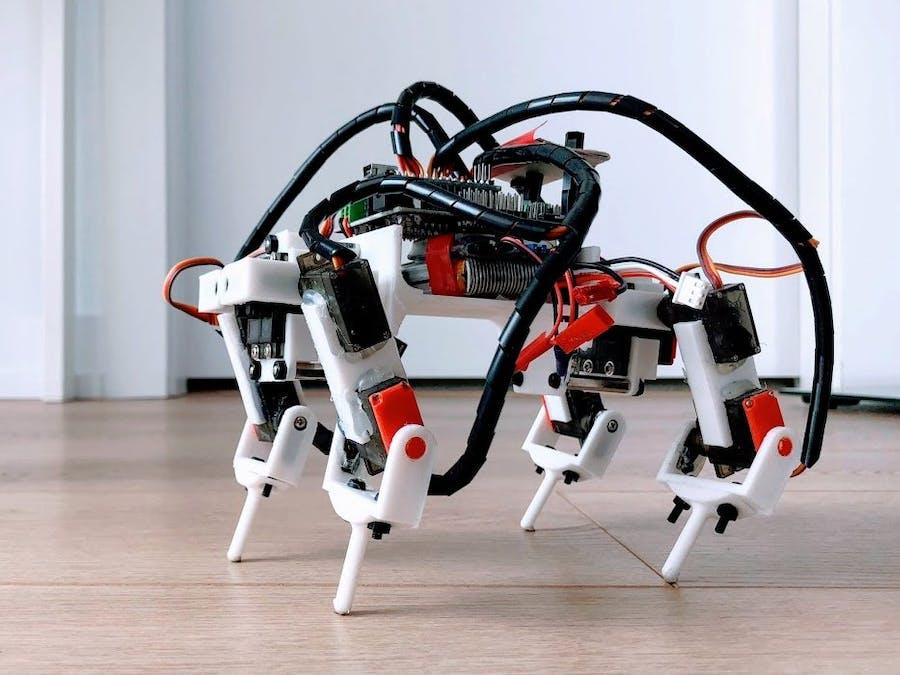 Quadruped Robot 9G