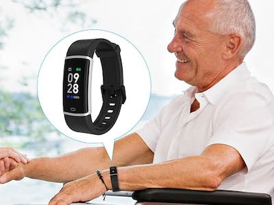 Bluetooth Wristband for Health Care Solution