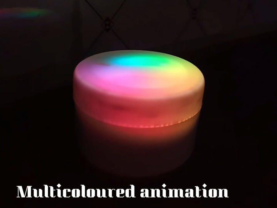 Multi-Colored Light Box to decorate homes/#smartcreativity
