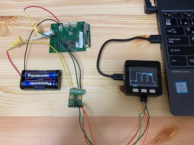 Use M5Stack to Measure Power Consumption