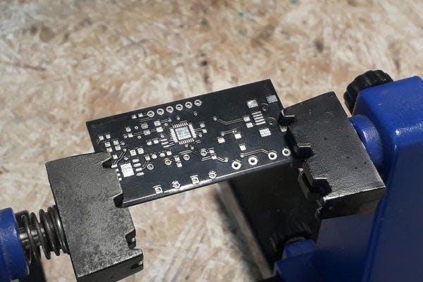 Laser Pistol PCB