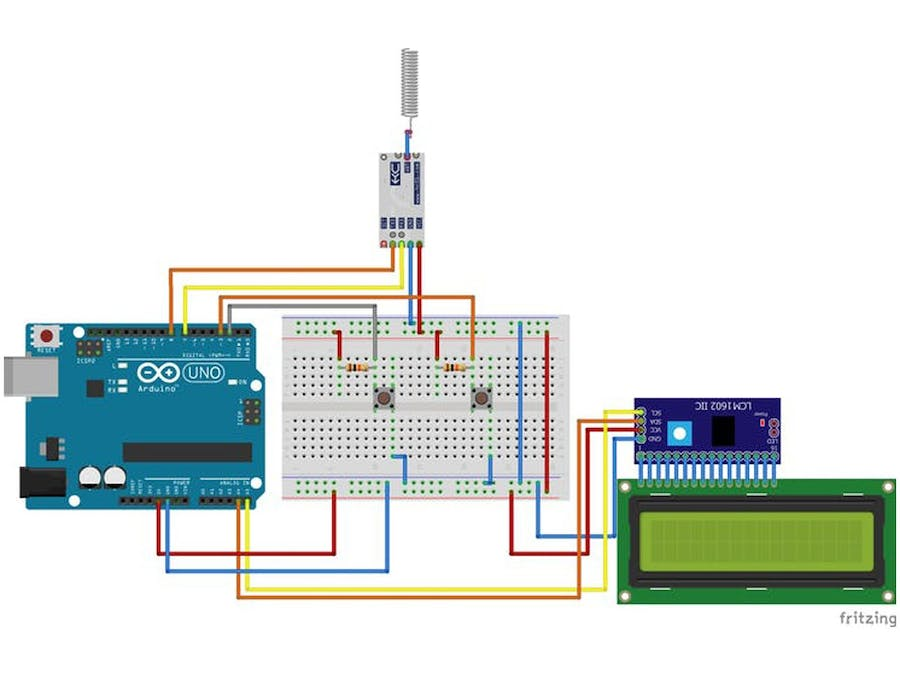 How to communicate two HC12 Module with Arduino