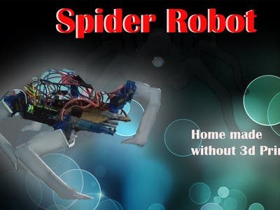 Spider Robot using Arduino and CardBoards
