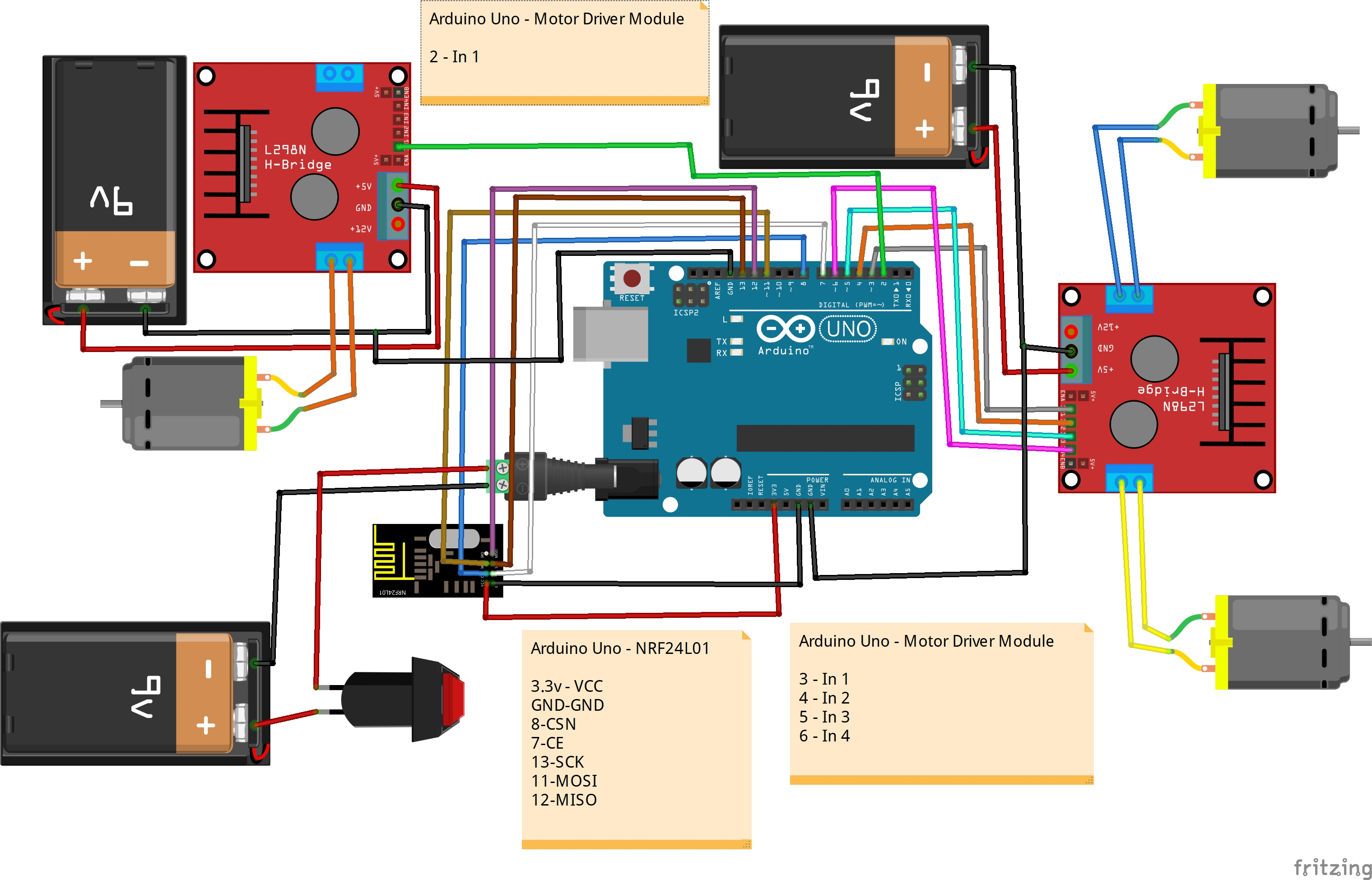 [SODI_2457]   How to Build a Battlebot With Arduino and Cardboard - Hackster.io | Battlebot Schematics |  | Hackster.io