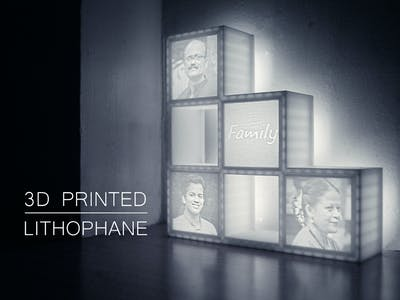 Make a Lithophane Lamp