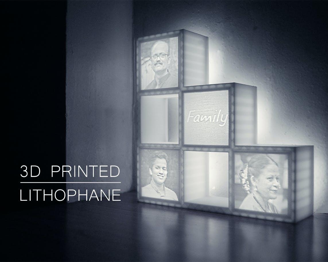 Lithophane Picture Prints
