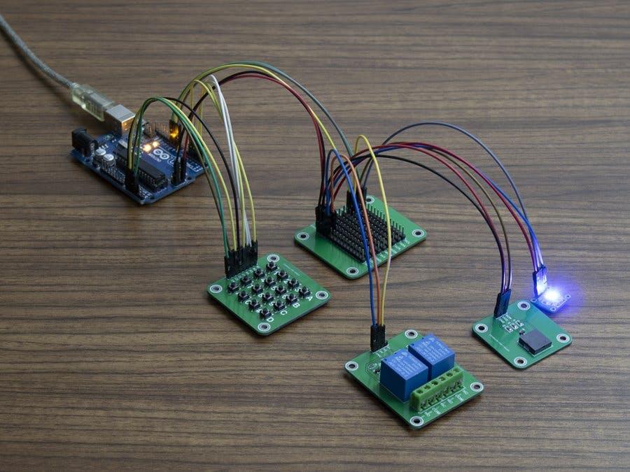 Arduino Password Lock Project