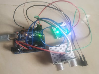 INTRUDER ALERT USING BOLT IoT AND ARDUINO