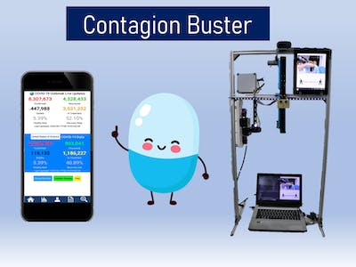 Contagion Buster - Contact Tracing with App Integration