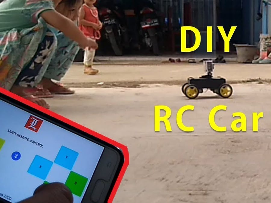Bluetooth Controlled Car with Camera