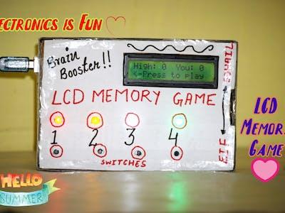 LCD Memory Game